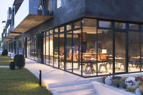 rezidencia levan - obchodné priestory